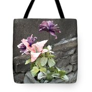 Cemetary Flowers 2 Tote Bag