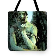 Cemetery Angel 2 Tote Bag