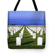 Cemetery At Waterfront, Fort Rosecrans Tote Bag