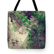 Cemetery Bench II Tote Bag