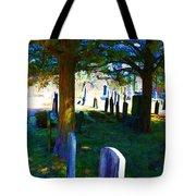 Cemetery Color 2 Tote Bag
