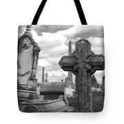 Cemetery Graves Tote Bag