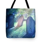 Cemetery Light Tote Bag