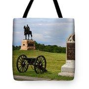 Cemetery Ridge Gettysburg Tote Bag by James Brunker