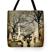 Cemetery Shades Tote Bag