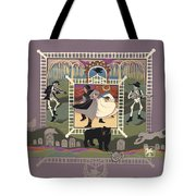 Cemetery Stomp Tote Bag