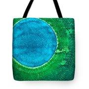 Cenote Original Painting Tote Bag