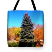 Center Of Attention Tote Bag