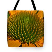 Center  Of Cone Flower Tote Bag