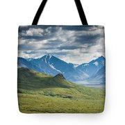Center Of The Valley Tote Bag