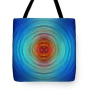 Center Point - Abstract Art By Sharon Cummings Tote Bag
