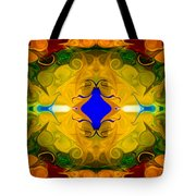Centered In Peace Abstract Pattern Artwork By Omaste Witkowski Tote Bag