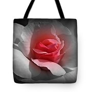 Centered Pink Tote Bag
