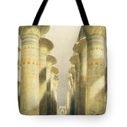 Central Avenue Of The Great Hall Of Columns Tote Bag