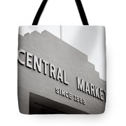 Central Market Tote Bag