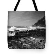 Central Oregon Coast Bw Tote Bag