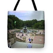Central Park - Bethesda Fountain Tote Bag