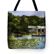 Central Park Boathouse Tote Bag