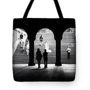 Central Park Bride II Tote Bag
