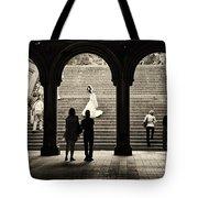 Central Park Bride Tote Bag