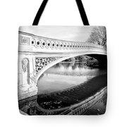 Central Park Bridges Bow Bridge Spanning Lake Tote Bag
