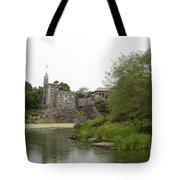 Central Park Castle Belvedre Tote Bag