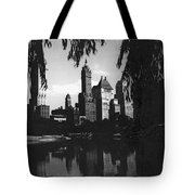 Central Park Evening View Tote Bag