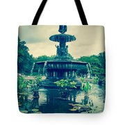 Central Park Fountain Tote Bag