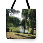 Central Park In The Summer Tote Bag