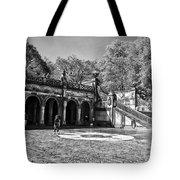 Central Park - Near Bethesda Fountain Tote Bag