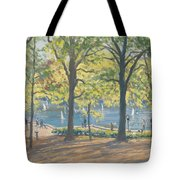 Central Park New York Tote Bag by Julian Barrow