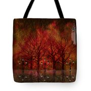 Central Park Ny - Featured Artwork Tote Bag