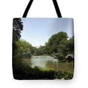 Central Park Pond Tote Bag