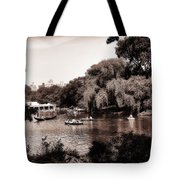 Central Park Rowing - New York City Tote Bag