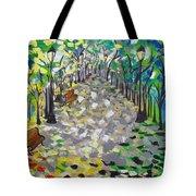 Central Park Serenity Tote Bag