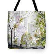 Central Park Stroll Tote Bag