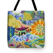 Central Park Upper Left Side Tote Bag