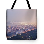 Central Park West Pano Tote Bag
