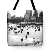 Central Park Winter Carnival Tote Bag