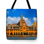 Central Railroad Of New Jersey Terminal Tote Bag