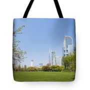 Central Shanghai In China Tote Bag