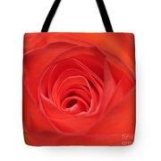 Centre Of A Rose Tote Bag