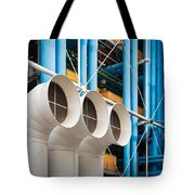 Centre Pompidou Tote Bag
