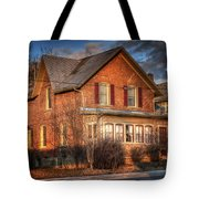 Centre St South Of The River Tote Bag