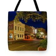 Centre Street Downtown Fernandina Florida Tote Bag