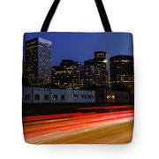 Century City Skyline At Night Tote Bag