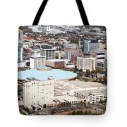 Century II Convention Hall And Downtown Wichita Tote Bag