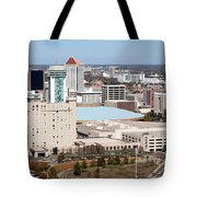 Century II Convention Hall And Hyatt Tote Bag