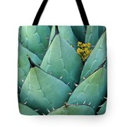 Century Plant And Tiny Blossom Tote Bag