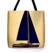 Ceq Black Sails Tote Bag